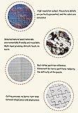 Casa Art Deco Painting GAGALAM 1000 Pezzi di Puzzle per Adulti Grande Veliero in Mare.Migliore Regalo per Bambini O Amici