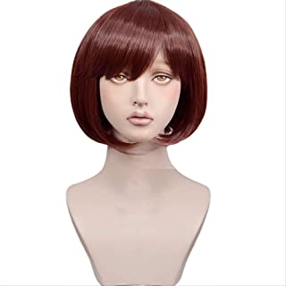Anime Fairy gone Noel Marlya Short BOBO Hair Cosplay synthetic Halloween Wigs + Wig Cap
