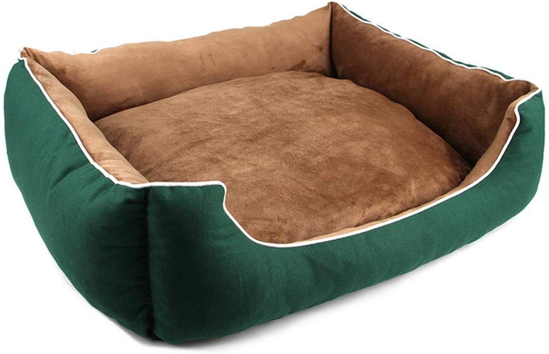 Mzdpp Superior Autumn And Winter Warm Pet Nest Dog Bed Soft Cushion Washable Kennel 60  50  15 Cm