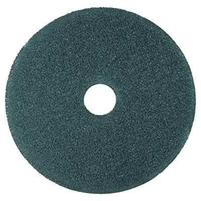 3M Cleaner Floor Pad 5300, Blue, 5 Pads/Carton