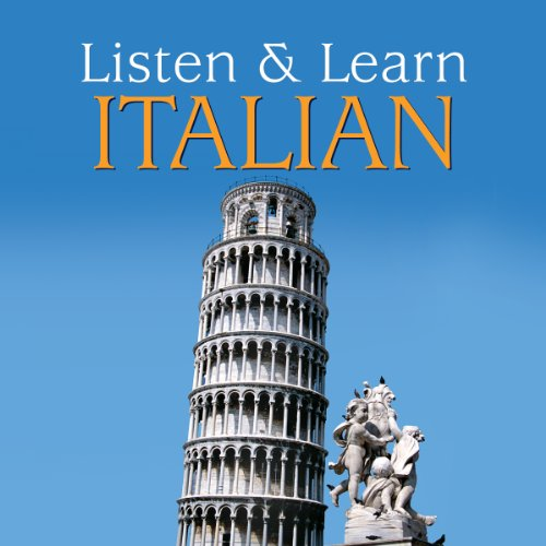 Listen & Learn Italian Audiobook By Dover Publications cover art