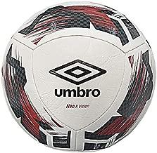 Umbro Neo X Vision Soccer Ball, Size 5, White/Black/Red