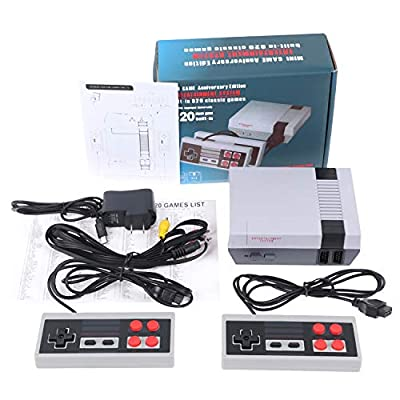 Retro Game Console AV Output NES Console Built-in Hundreds of TV Game Player Family 620 Classic Video Games from kl-002