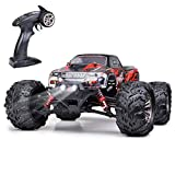 GoStock Remote Control Car, Off Road RC Racing Car 36km/h High Speed 1:16 4WD Radio Monster Truck 2.4Ghz Waterproof Electric Buggy Crawler Toy Gift for 6-12 Years Old Kids & Adult and Boys & Girls