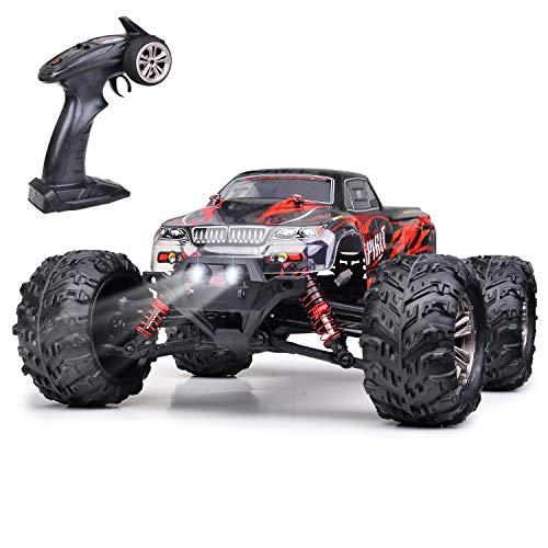 GoStock Ferngesteuertes Auto 4WD 1:16 RC Auto Off-Road Monstertruck Buggy mit 36km/h Alles Gelände 2,4 GHz Funkfernsteuerung Rennwagen 1500mAh Akku RC Crawler Spielzeug Geschenk für Kinder Erwachsene