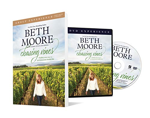 Chasing Vines Group Experience with DVD: Finding Your Way to an Immensely Fruitful Life (Paperback) – By Beth Moore – A Study Guide with DVD for Small Groups