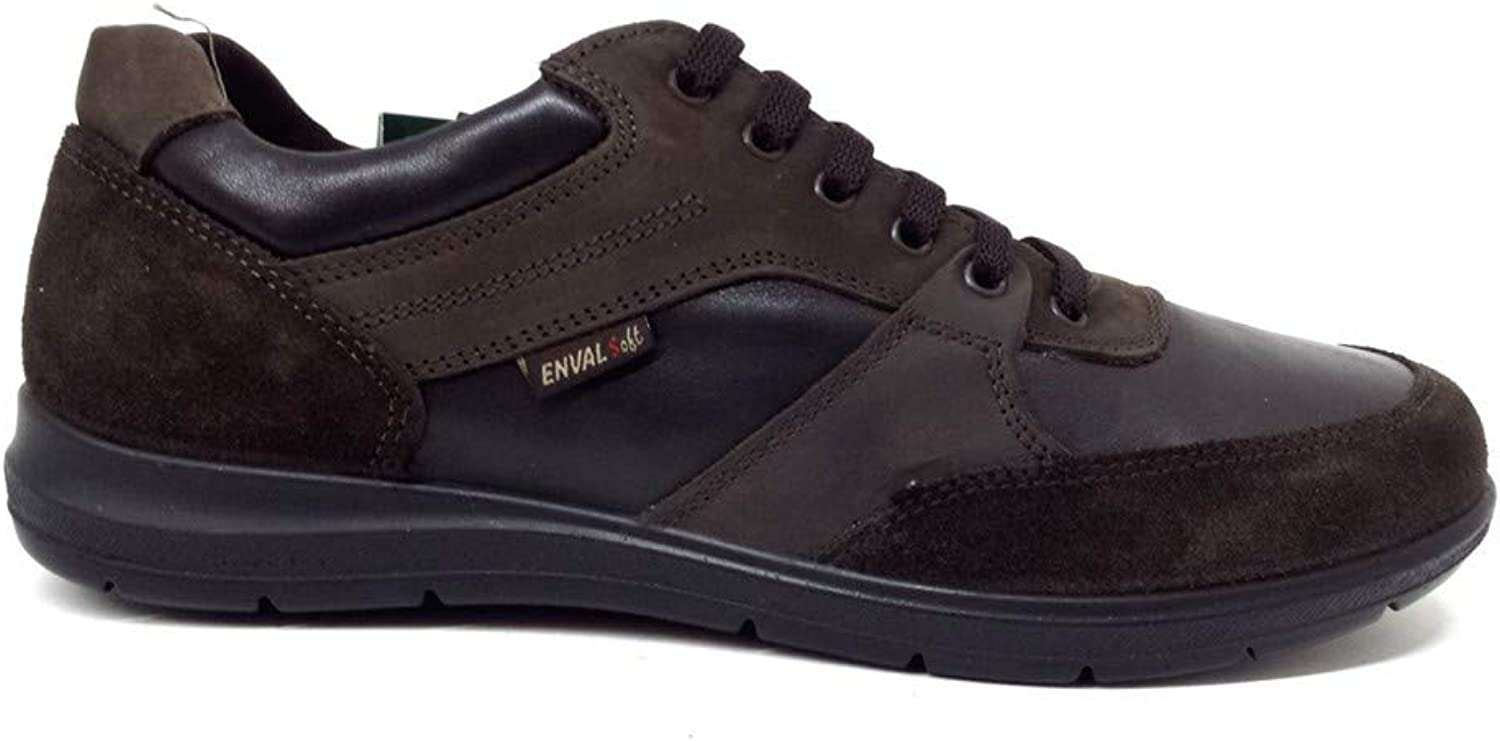Enval Men's Trainers Brown T.Mgold