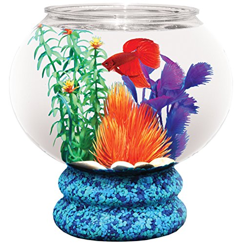 Koller Products 1-6-Gallon AquaTank Fish Bowl