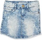 NAME IT Nittime Slim Dnm Skirt Nmt Noos Falda, Azul (Light Blue Denim), 92 para Niños