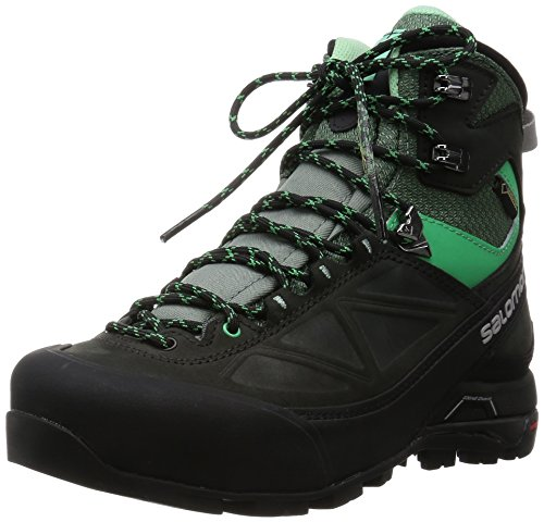 SALOMON Damen L37915700 Trekking-& Wanderstiefel, Grau (Asphalt/Light Tt/Jade Green Asphalt/Light Tt/Jade Green), 42 EU