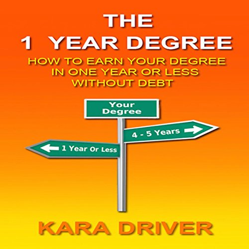 The 1 Year Degree audiobook cover art