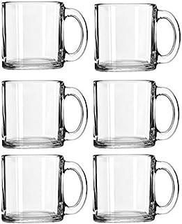 لیبی کریستال قهوه لیوان کیک قهوه گرم مجموعه (13 اونس) (6)