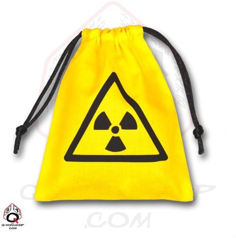 Q-Workshop QWOBNU03 Nuke Dice Tasche, gelb schwarz B00AFO11UE Moderner Modus     | Attraktiv Und Langlebig