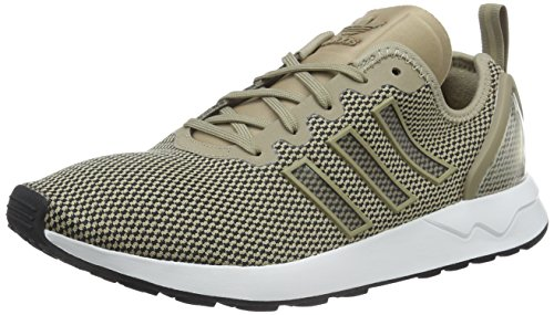adidas Herren ZX Flux Adv Sneakers, Gold (Gold/White/Black) , 44