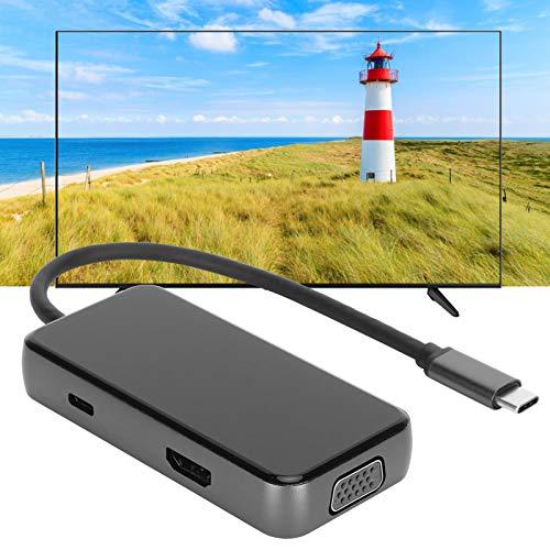 FOLOSAFENAR Adaptador de Cable HDTV Type-C Adaptador Type-C a PD con función de Calidad de Imagen de Alta restauración