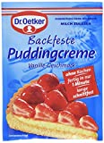 Dr. Oetker Backfeste Puddingcreme, 8er Pack (8 x 40 g) -