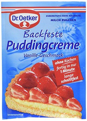 Dr. Oetker Backfeste Puddingcreme, 8er Pack (8 x 40 g)