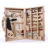 gaeruite 16 stücke Kinder Spielzeug Emulational Repair Tool Kit für Kinder, Handwerkzeuge Pädagogisches Spielzeug Set