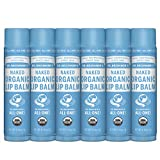 Dr. Bronner's - Organic Lip Balm (Naked, .15 ounce, 6-Pack) -...