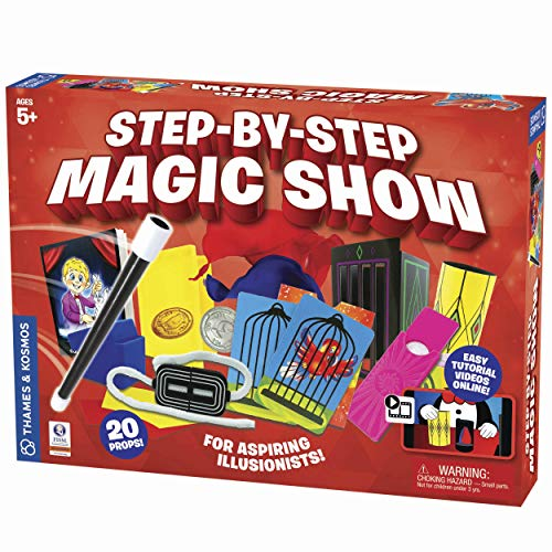 Thames & Kosmos Step-by-Step Magic Show Introductory Magic Kit