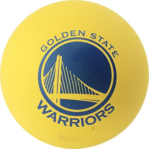 Spalding NBA Spaldeens GSW (51-185Z) Vpe 24Pcs Minibalones de Baloncesto, Amarillo, Talla Única