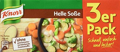 Knorr Helle Soße, 3 x 250 ml, 15er Pack
