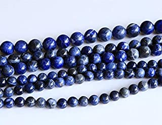 Jewel Beads Natural Beautiful jewellery 1 Strands Natural Blue Lace Stone Sodalite Round Loose Beads 10mm 02883Code:- JBB-4579