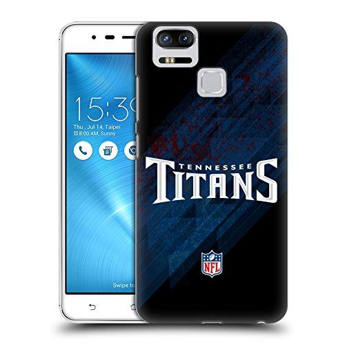 Head Case Designs Oficial NFL Desenfoque Logotipo de Titanes de Tennessee Carcasa rígida Compatible con Zenfone 3 Zoom ZE553KL