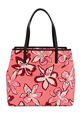 Kate Spade New York HARMONY Baby Diaper Bag - Floral Coral PINK - 2 Piece Set + Baby Pad