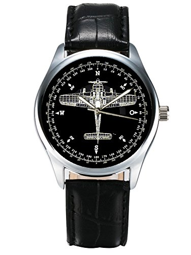 FOCKE WULFE 190 LUFTWAFFE RETROFIGHTER AIRCRAFT!! ART FW-190 40mm latón macizo reloj de pulsera