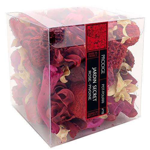 POT-POURRI boite - JARDIN SECRET (rose pivoine)