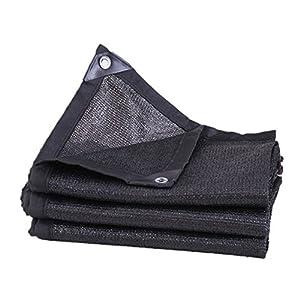 DJSC Ispessimento Criptato Parasole Rete Protezione Solare Rete Isolante Mesh Bordo Forato 6 Pin Giardino Balcone Tetto in Alto Ombreggiatura Reti Varie Dimensioni Ombrellone Ombreggiatura(2 * 8m)
