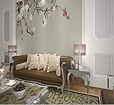 Fototapete 3D Hochwertige Tapete 3D TV-Hintergrund für Magnolienblüten Fototapete für das Wohnzimmer