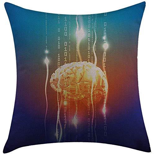 Kay Sam Fundas de Almohada, Flujo de fantasía de dígitos binarios Que se escapan de la Creatividad Mental Abstracta del Cerebro.