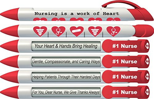 "Greeting Pen ""Nurses Have Heart"""