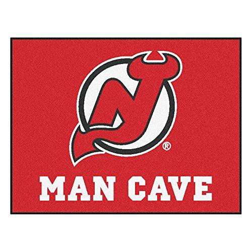 Ventilador alfombrillas New Jersey Devils Man Cave All-Star alfombrilla, 34
