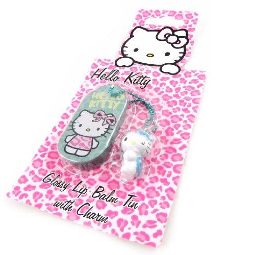 Hello Kitty [H1795] - Gloss 'Hello Kitty' turquoise + accessoire téléphone