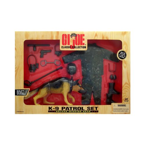 G.I. Joe K-9 Deluxe Mission Gear