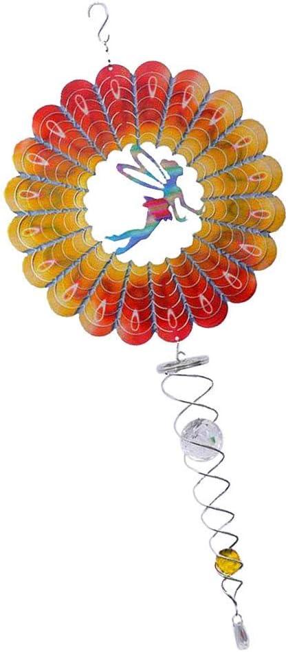 gaixample.org Dragonfly Tenlacum Multi-color 3D Metal Hanging Wind ...