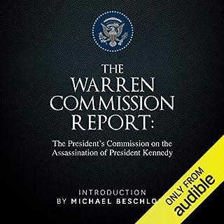 The Warren Commission Report audiobook cover art
