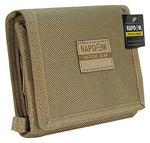 RAPDOM Tactical Wallet, Khaki