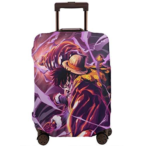 Anime - Funda protectora para equipaje de viaje Luffy de 18, 24, 28 y 32 pulgadas (sin maleta) elástica a prueba de polvo