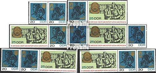 Prophila Collection DDR WZd177-WZd182 (kompl.Ausg.) 1967 Messe (Briefmarken für Sammler)