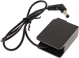 balikha DMC GH2 GX8 G6 FZ2005.5x2.5mm用DCC8DCカプラーダミーバッテリー