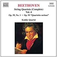 Beethoven: String Quartets, Vol. 4 (1998-08-21)