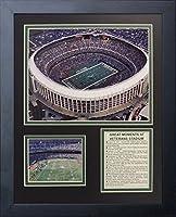 "Philadelphia Eagles - Veterans Stadium 11"" x 14"" Framed Photo Collage by Legends Never Die, Inc."