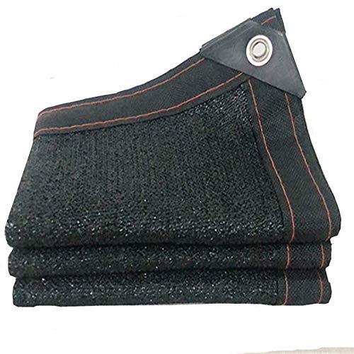 Mingliang Sonnensegel Shade Netting 70% -75% Sunblock Shade Cloth - Schwarzer Uv-beständiger Stoff-mesh-teer Für Gewächshaus Pflanzenschattennetz (3 * 6m) 3 * 6m