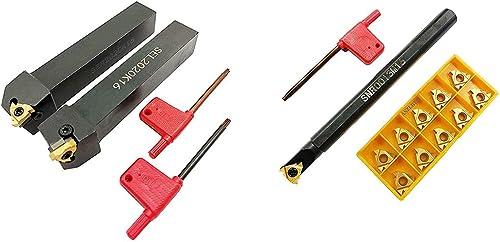 2021 ASZLBYM CNC sale Lathe Carbide Indexable Turning Tool Holder SER2020K16 SEL2020K16 SNR0013M16 2021 with Indexable Turning Insert 2PCS 16ER / IR AG60 BP010 10pcs 16IR AG60 Carbide Turning Insert sale