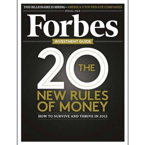 Forbes, November 21, 2011 audiobook cover art