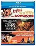 Cowboys, The / Green Berets, The / Searchers, The (BD) (3FE) [Blu-ray] by Warner Home Video